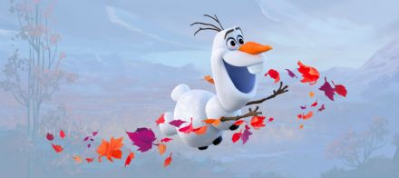 Frozen 2 Olaf Panoramic mural wallpaper 202x90cm